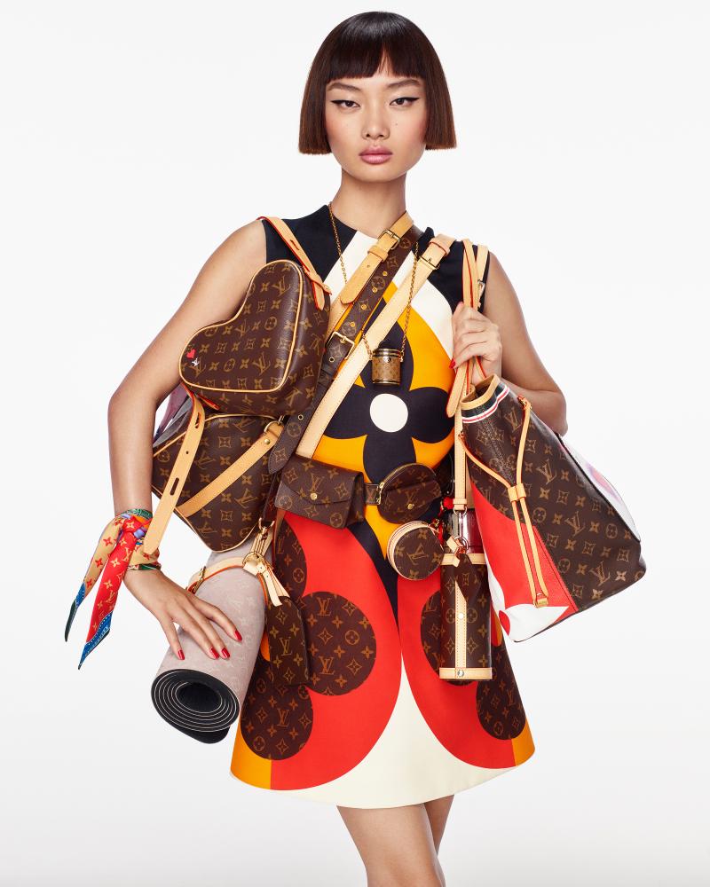 Mao for Louis Vuitton Campaign