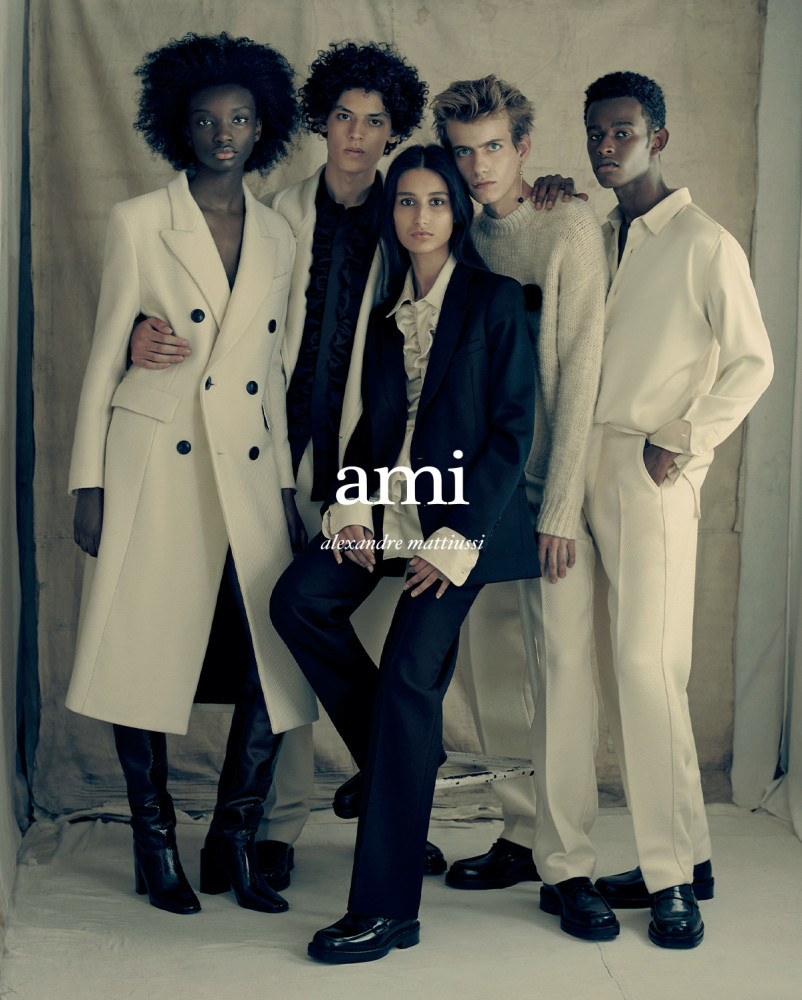 BRAHIM FOR AMI PARIS FW20 CAMPAIGN