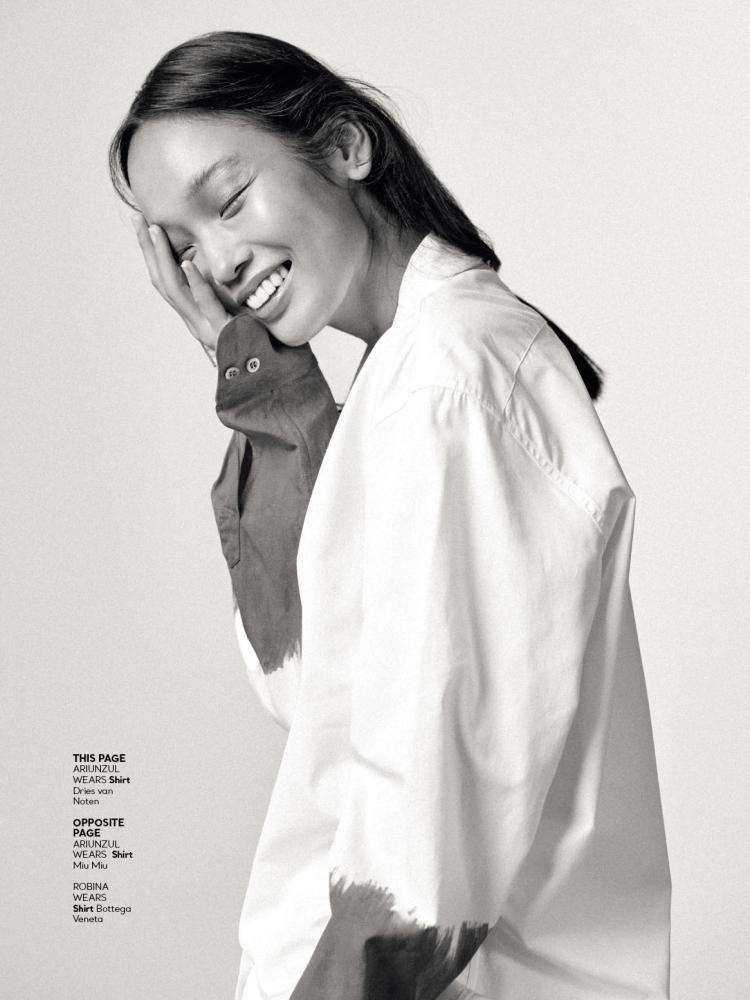 Ariunzul for Glamour Magazine