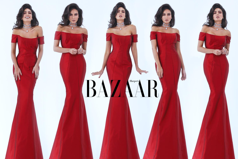 Daniela Botero for Harper's Bazaar Serbia