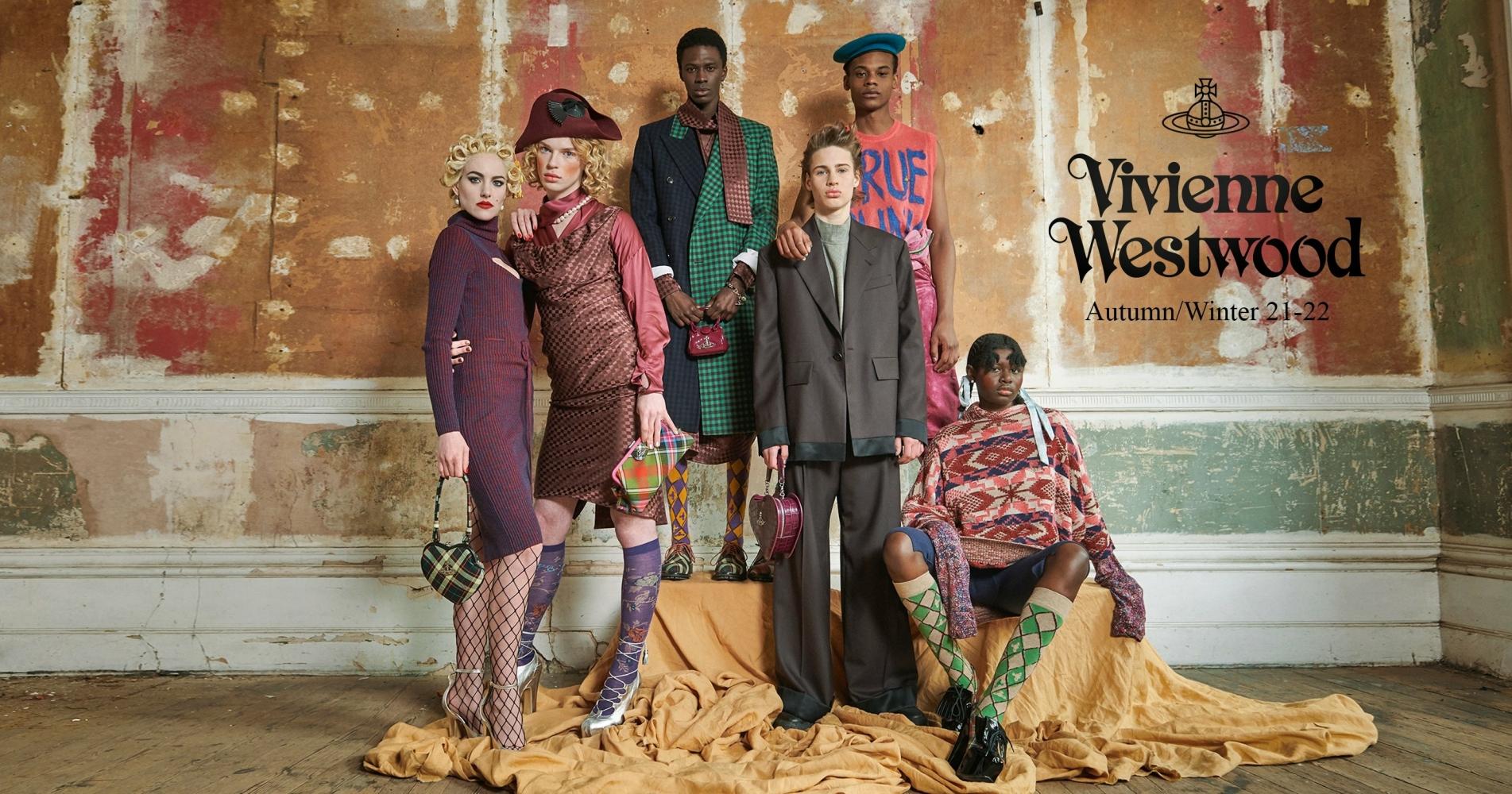 ZAVIER For Vivienne Westwood F/W 21 Lookbook