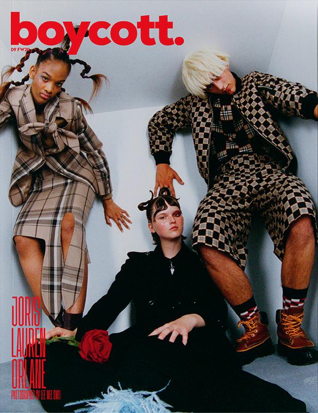 JORIS Covers BOYCOTT Magazine