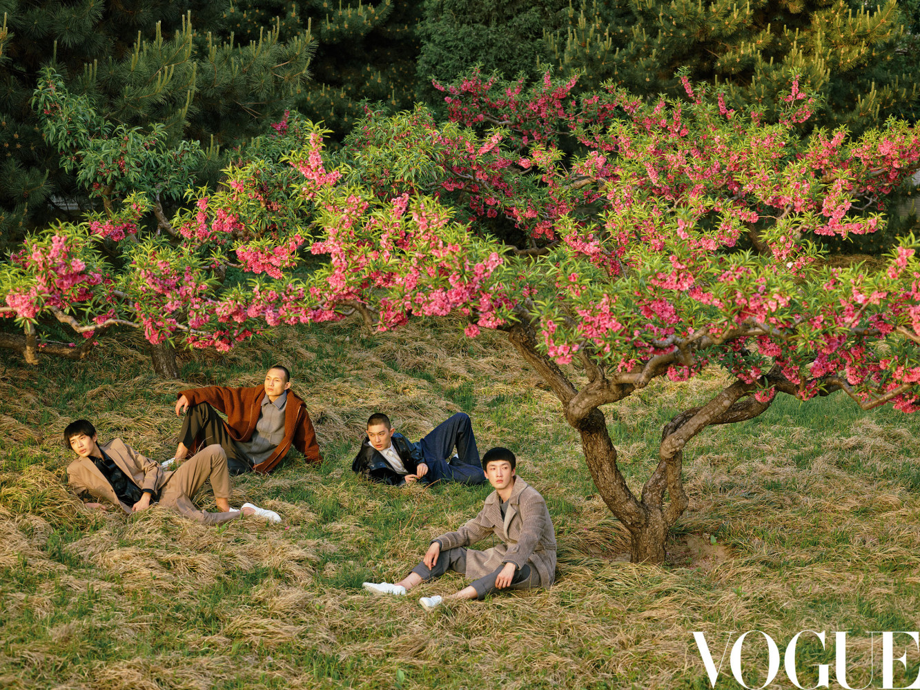 NI HAORAN FOR Vogue China 'The New Comers'