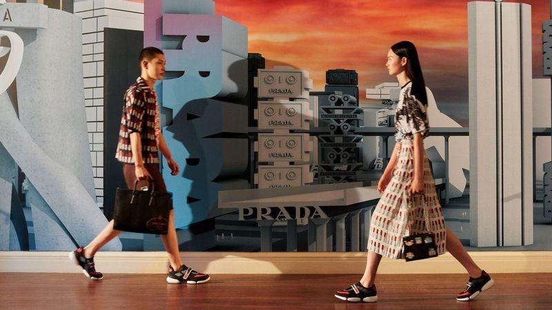 NI HAORAN FOR PRADA Chinese Valentine's Day Collection