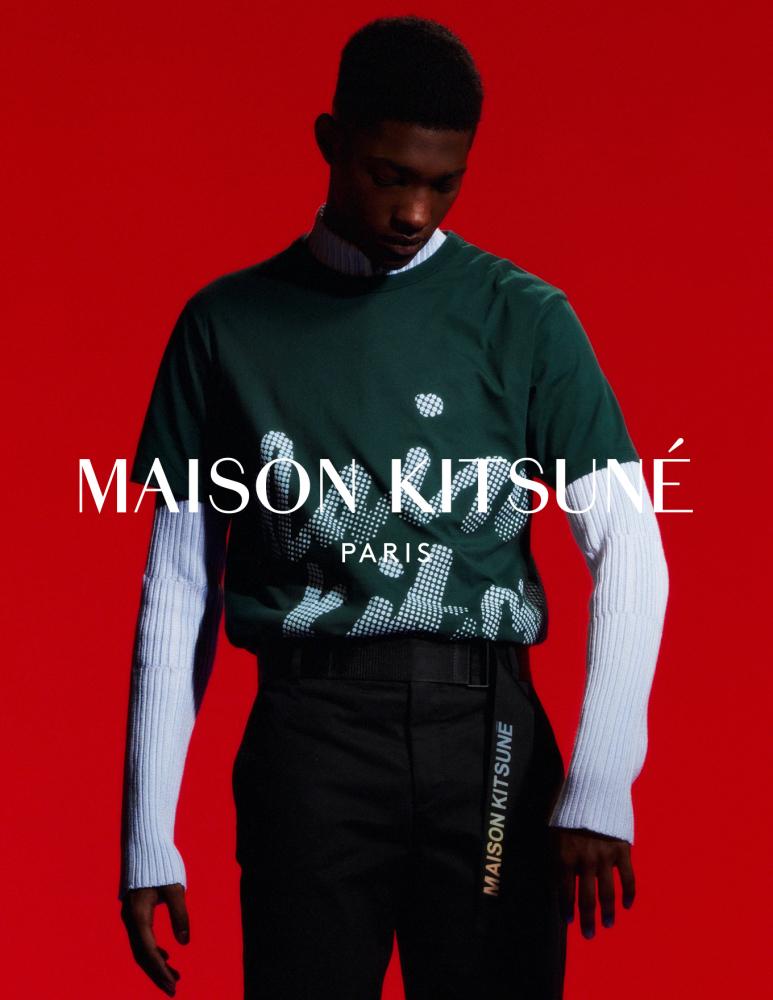 DIOGO For Maison Kitsune FW21