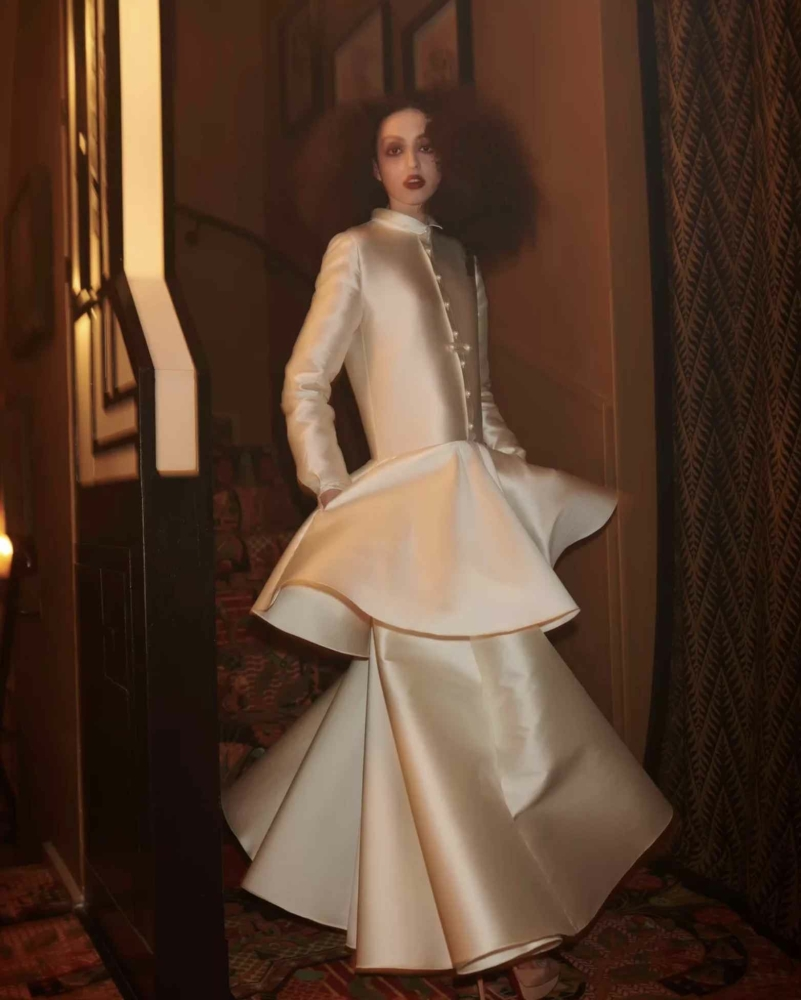 Clara for Alexis Mabille show FW21