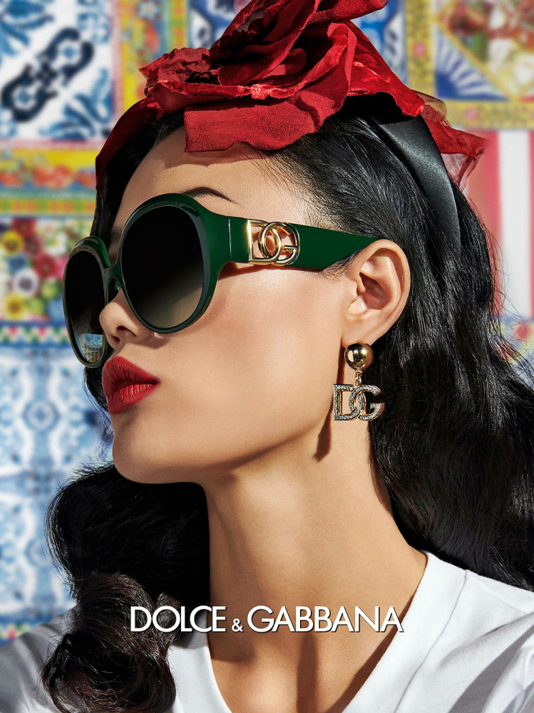 Mei for Dolce & Gabbana Campaign