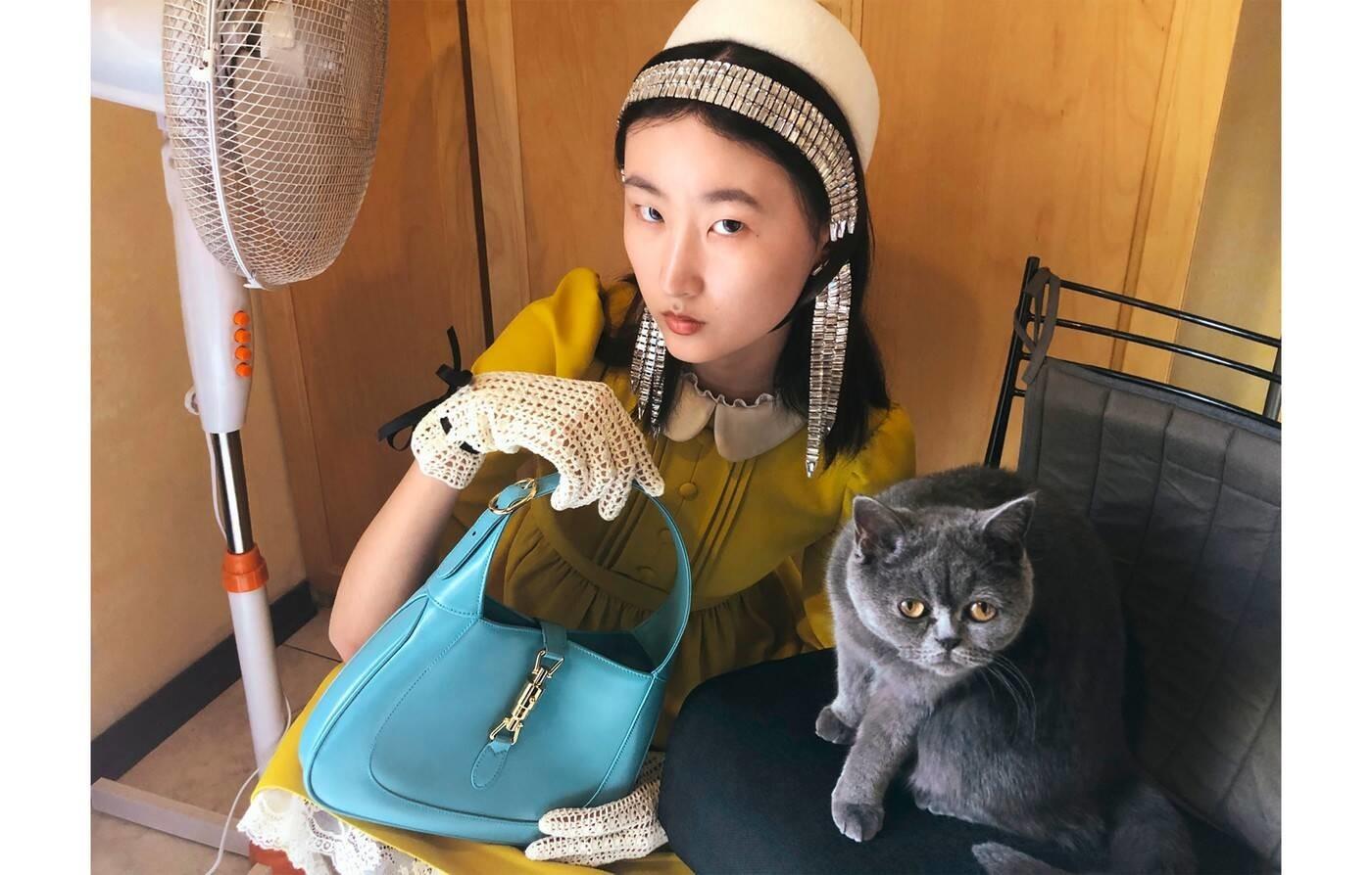 Li Shirui for Gucci