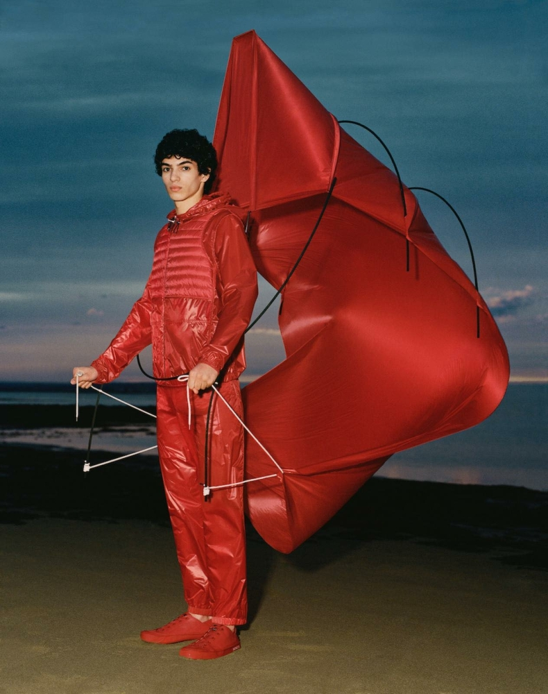 LEO For MONCLER X Craig Green Campaign