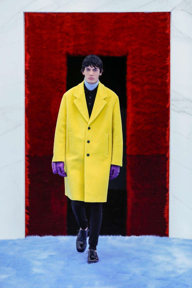 EVAN GARCIA WORLDWIDE EXCLUSIVE FOR PRADA FW21