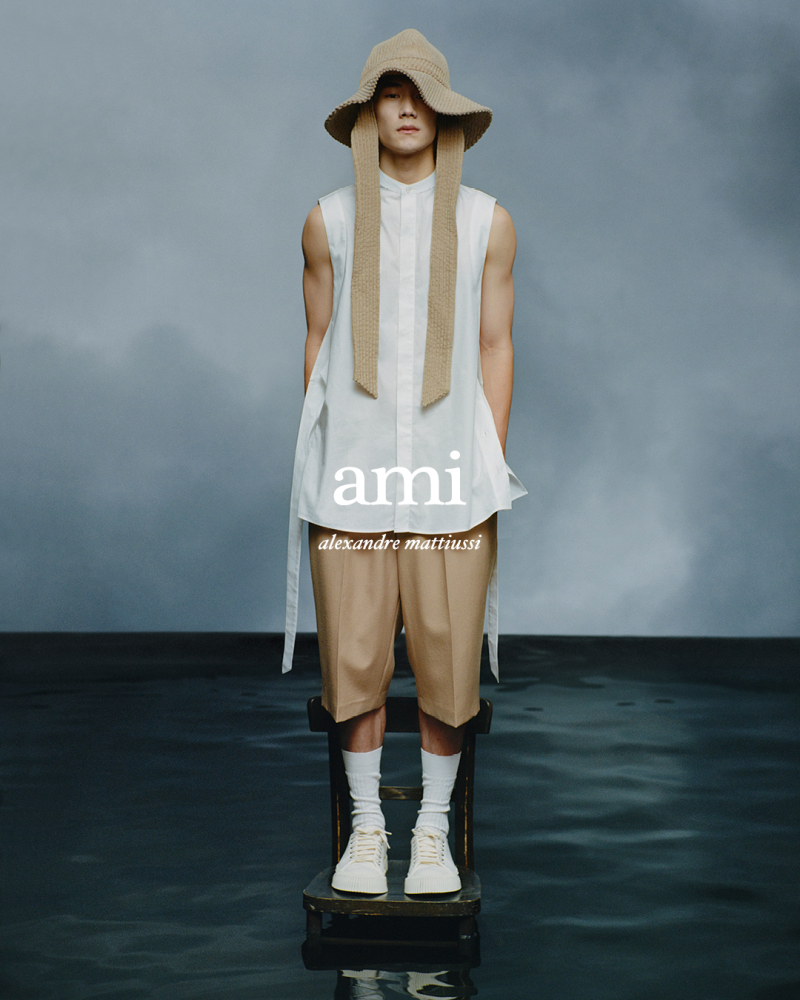 ADAM & JIE FOR AMI SPRING SUMMER 2021 CAMPAIGN