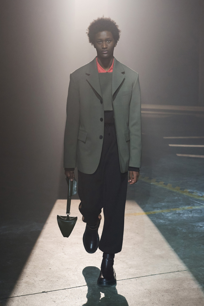 Nagga For SOLID HOMME Fall/Winter 2021, show in Milan