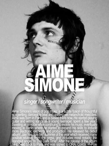 AIME SIMONE / SINGER