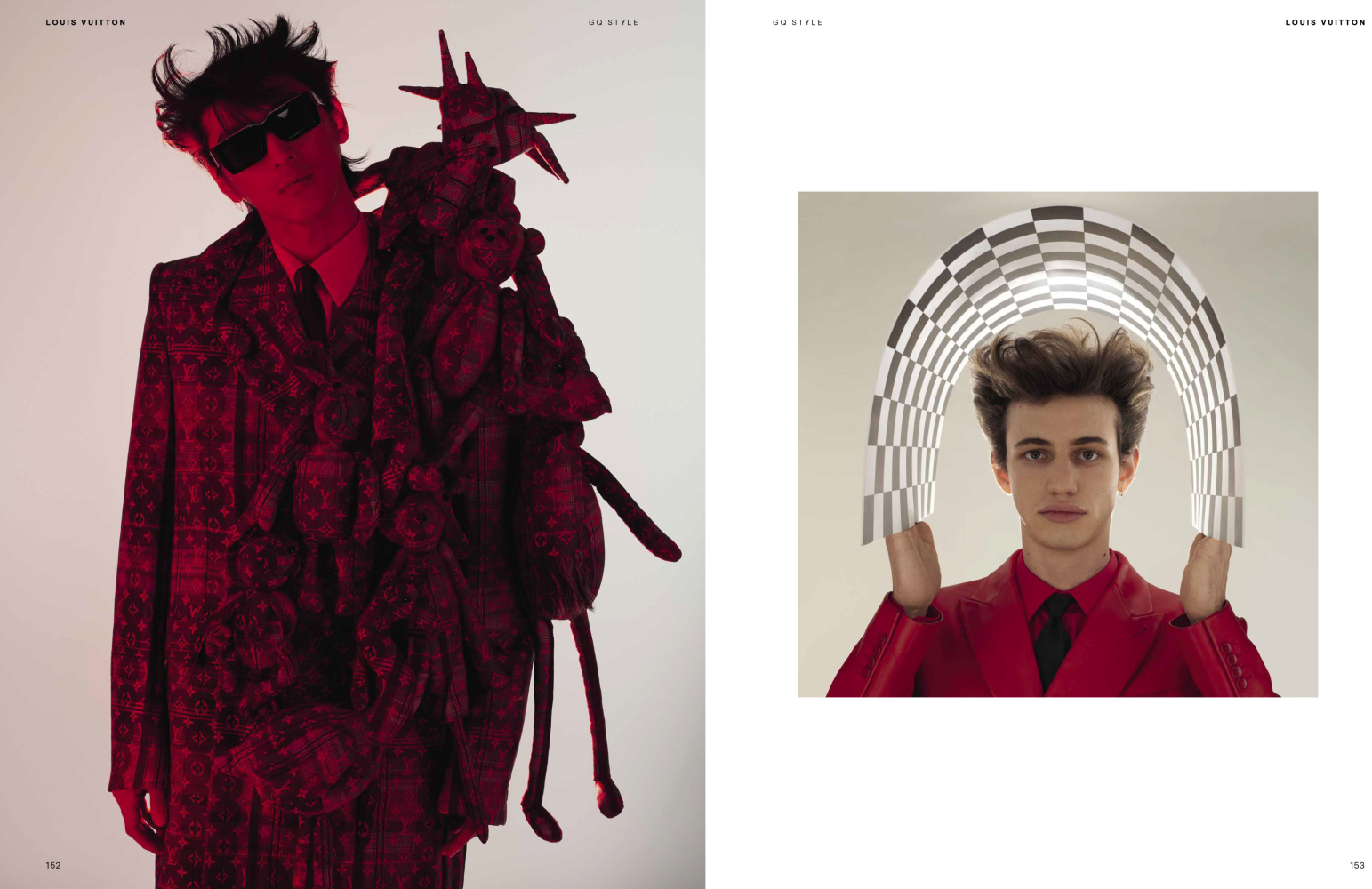 THIERRI FOR GQ GERMANY LOUIS VUITTON SPECIAL