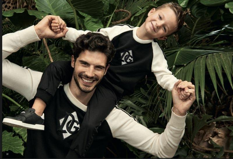 ANDREA & ALESSIO FOR Dolce & Gabbana 'Mini Me SS 20 CAMPAIGN'