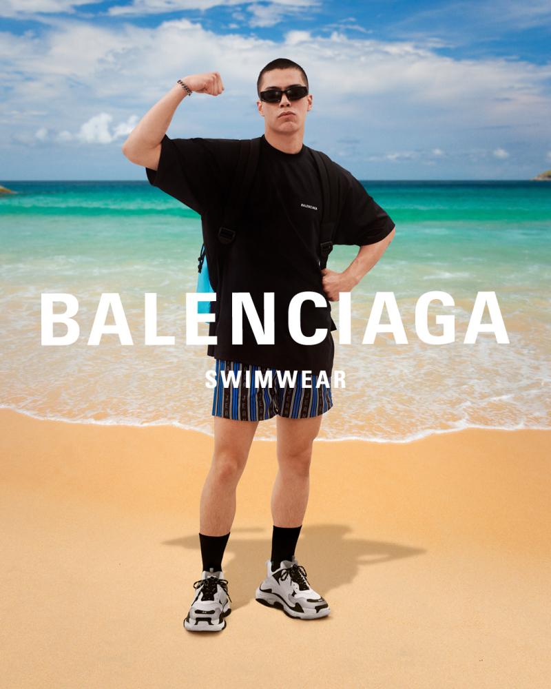 PATRIC FOR BALENCIAGA SWIMWEAR