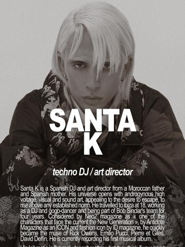 SANTA K / DJ & ART DIRECTOR