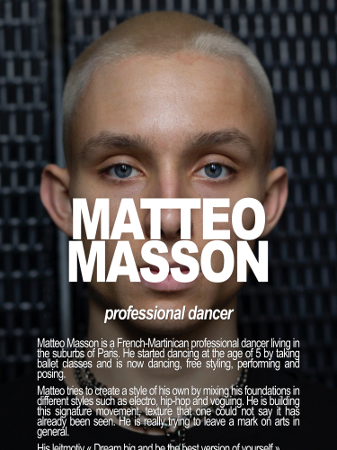 MATTEO / PROFESSIONAL DANCER