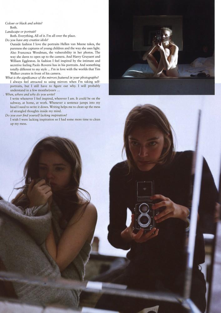 Laura's interview in Rush Magazine