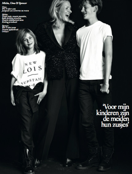 Dutch Vogue with Micha & her loved ones