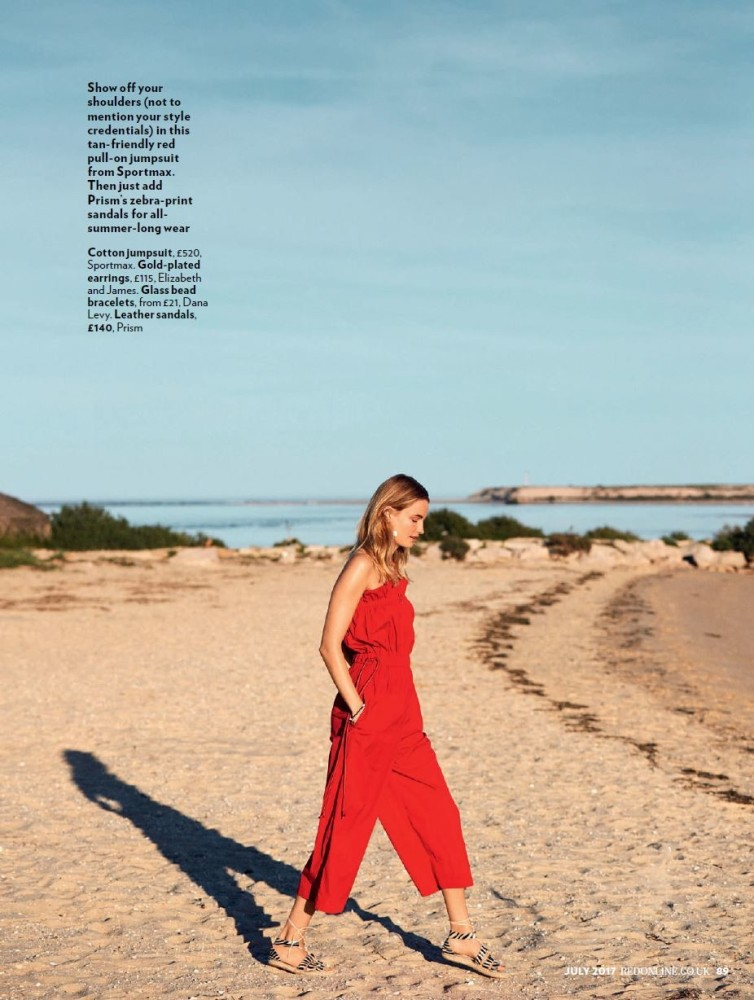 Elise for Red Magazine