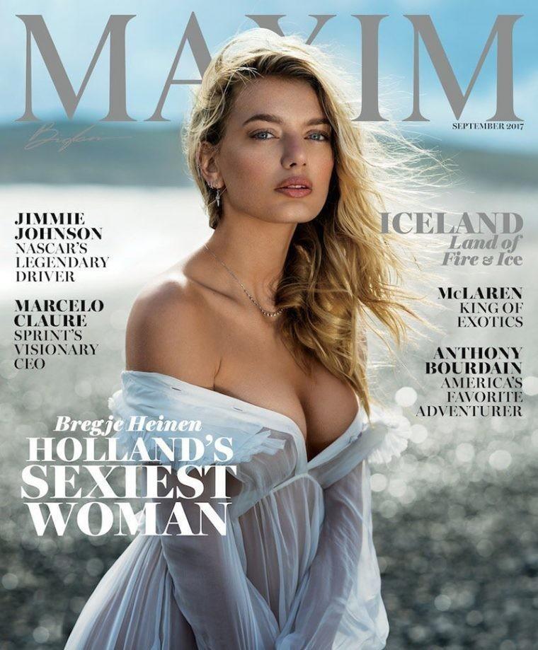 Bregje for Maxim Mag