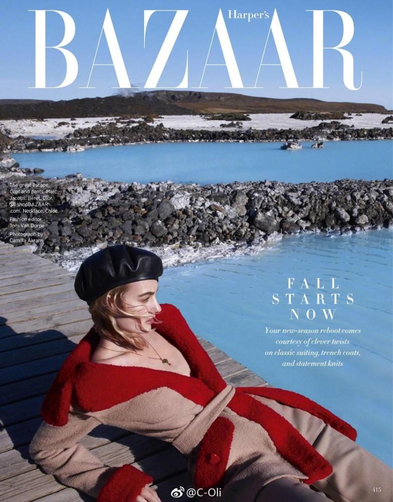Maartje for Harpers Bazaar US