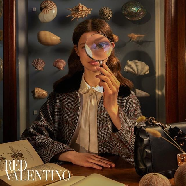 Iris for RED Valentino