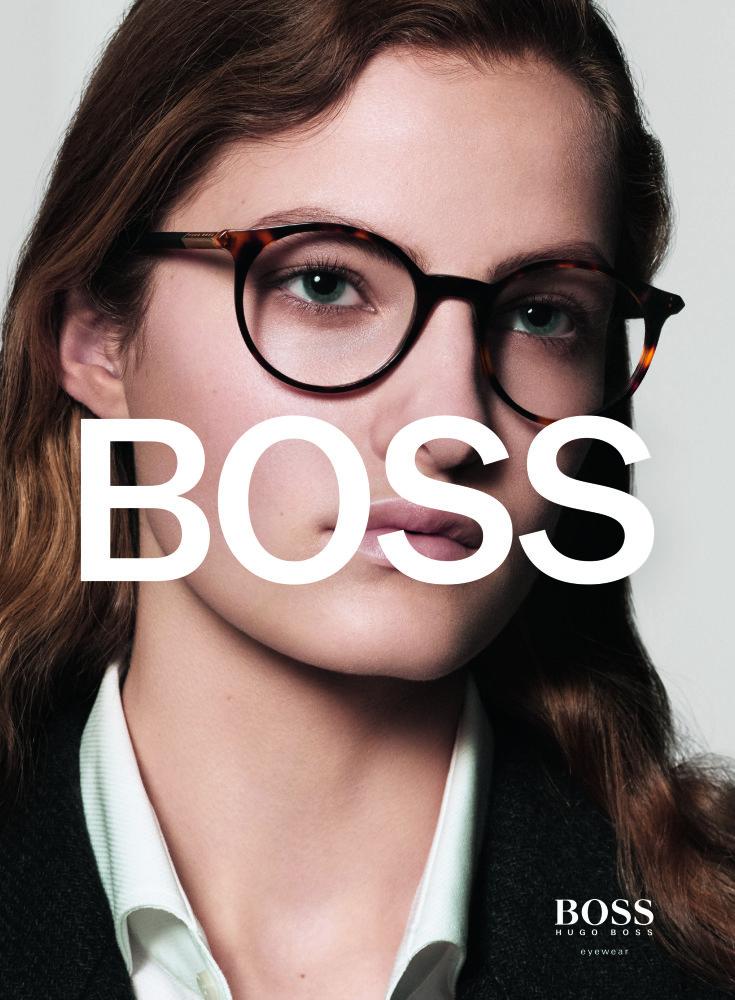 Felice for the BOSS Eyewear Campaign