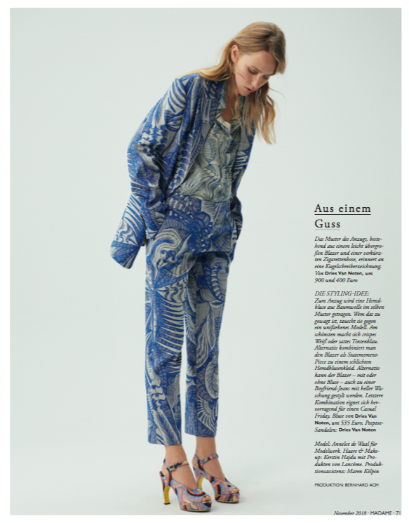 Annelot for Madame Germany