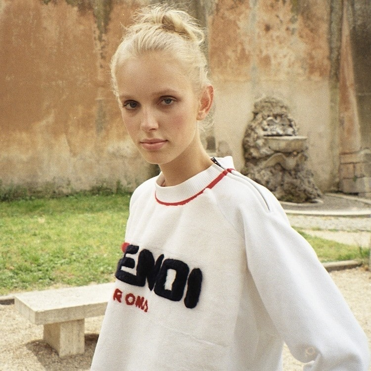 Jessie for F is for FENDI