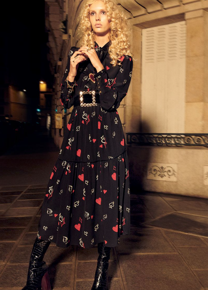 Jessie for Zara Collection Campaign