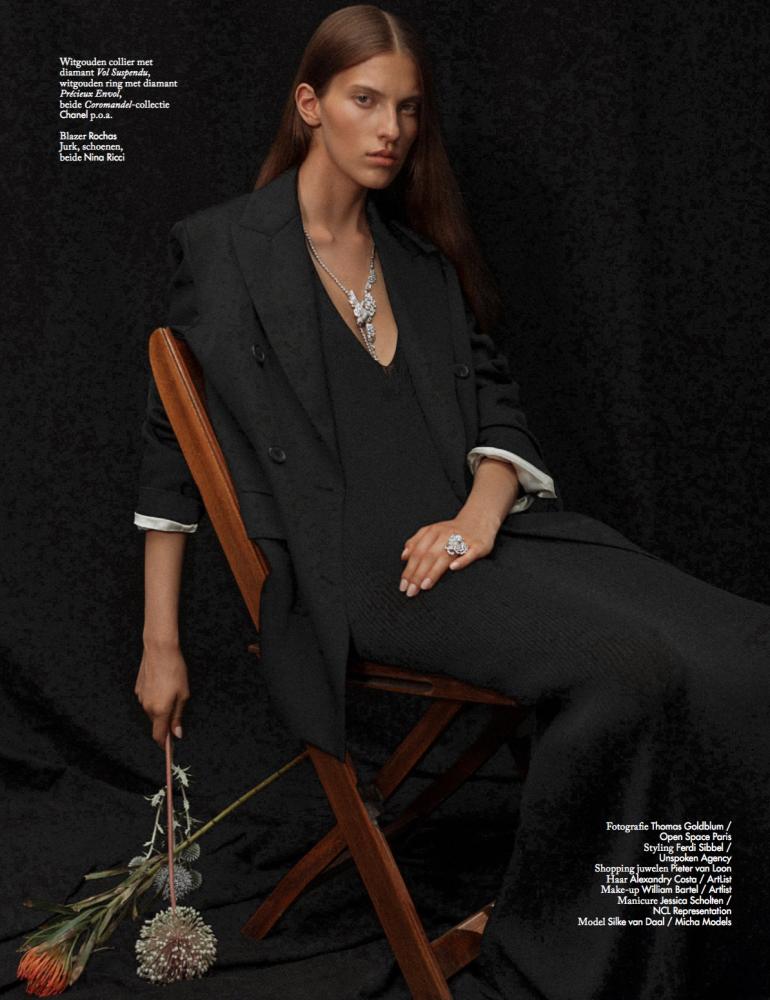 Silke for Vogue NL