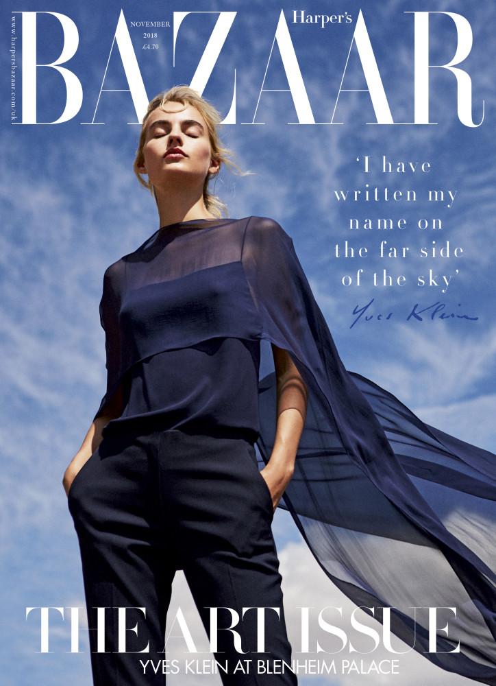Maartje for Harper's Bazaar UK