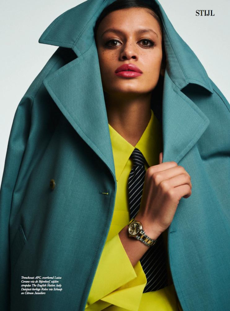 Mila for Harper's Bazaar NL