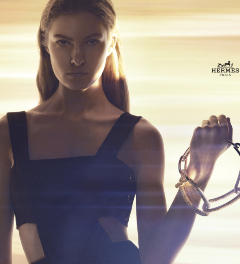 Felice for Hermes jewellery campaign