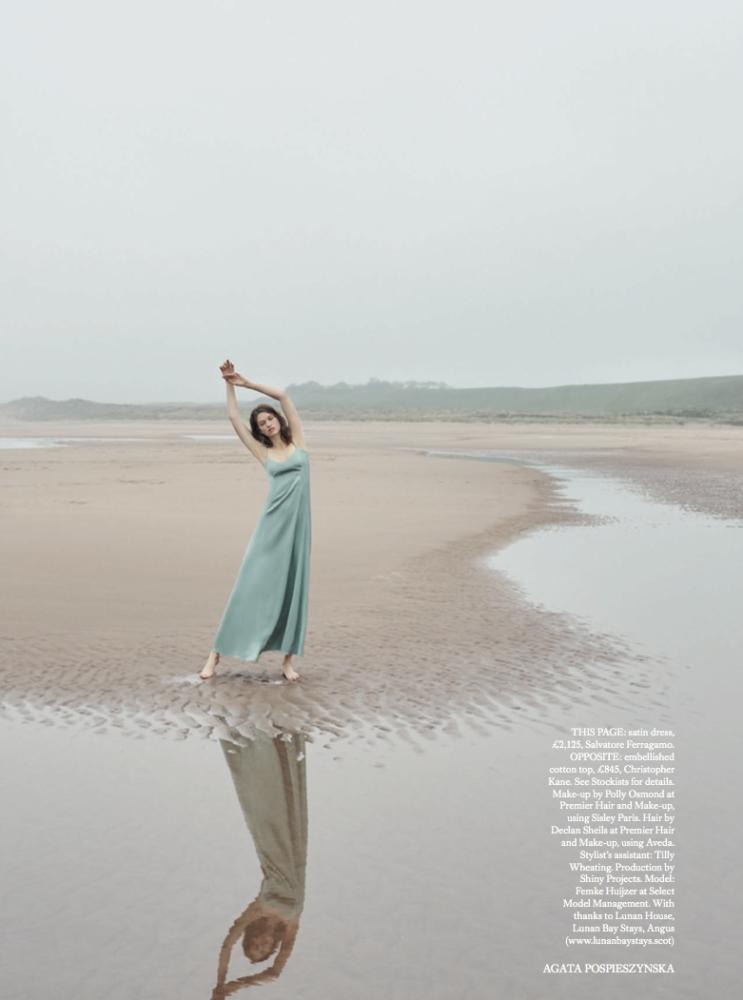 Femke for Harper's Bazaar UK