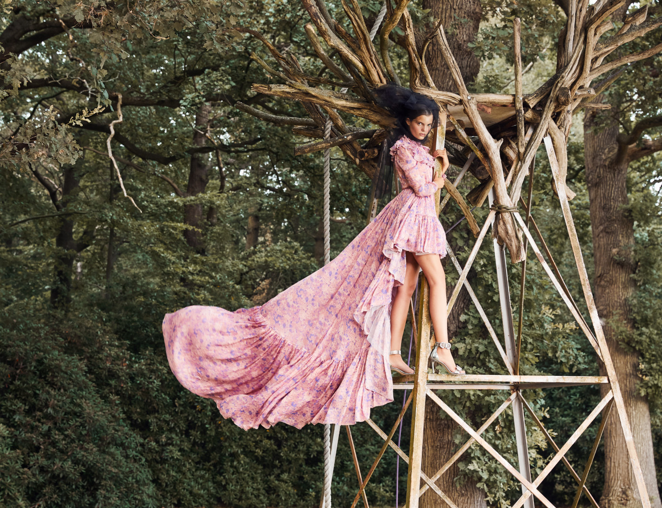Michelle for InStyle Magazine