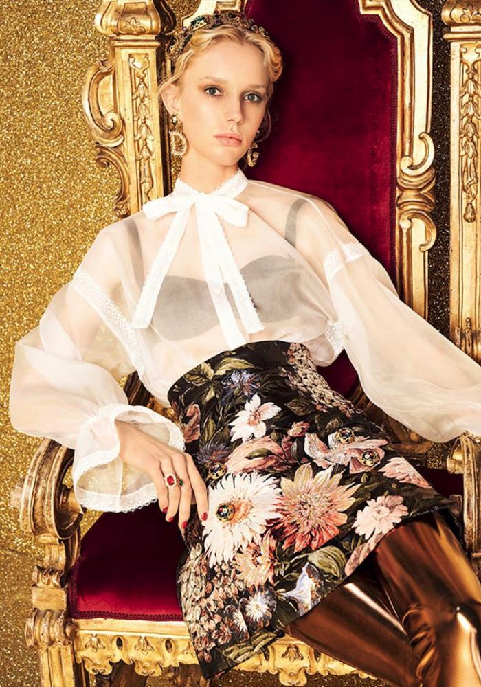 Jessie for Dolce & Gabbana