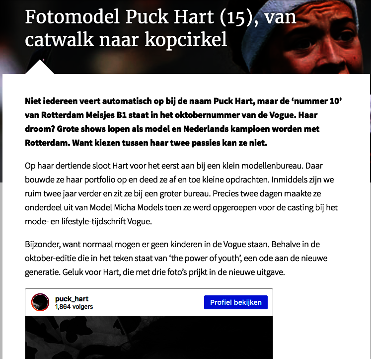 Puck for Hockey.NL