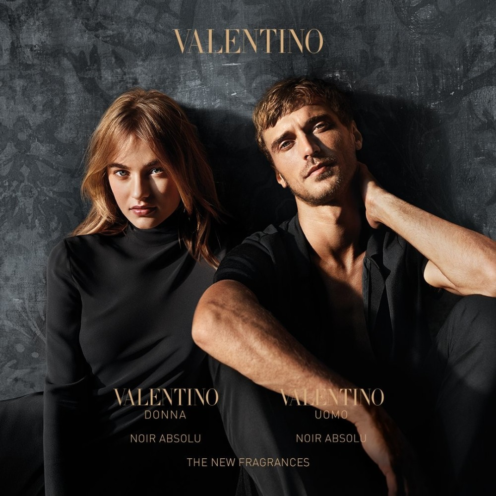 Maartje for the new Valentino Donna Parfume Campaign