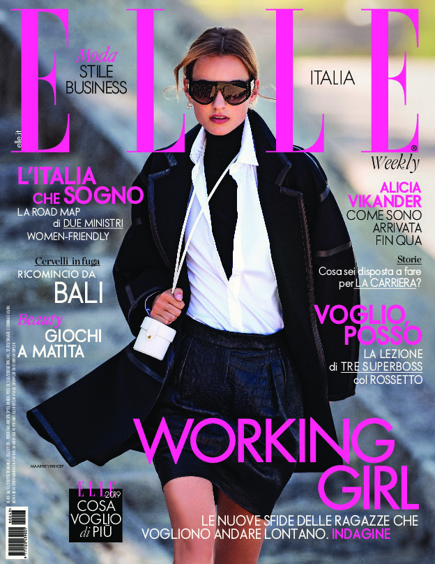 Maartje for ELLE Italia