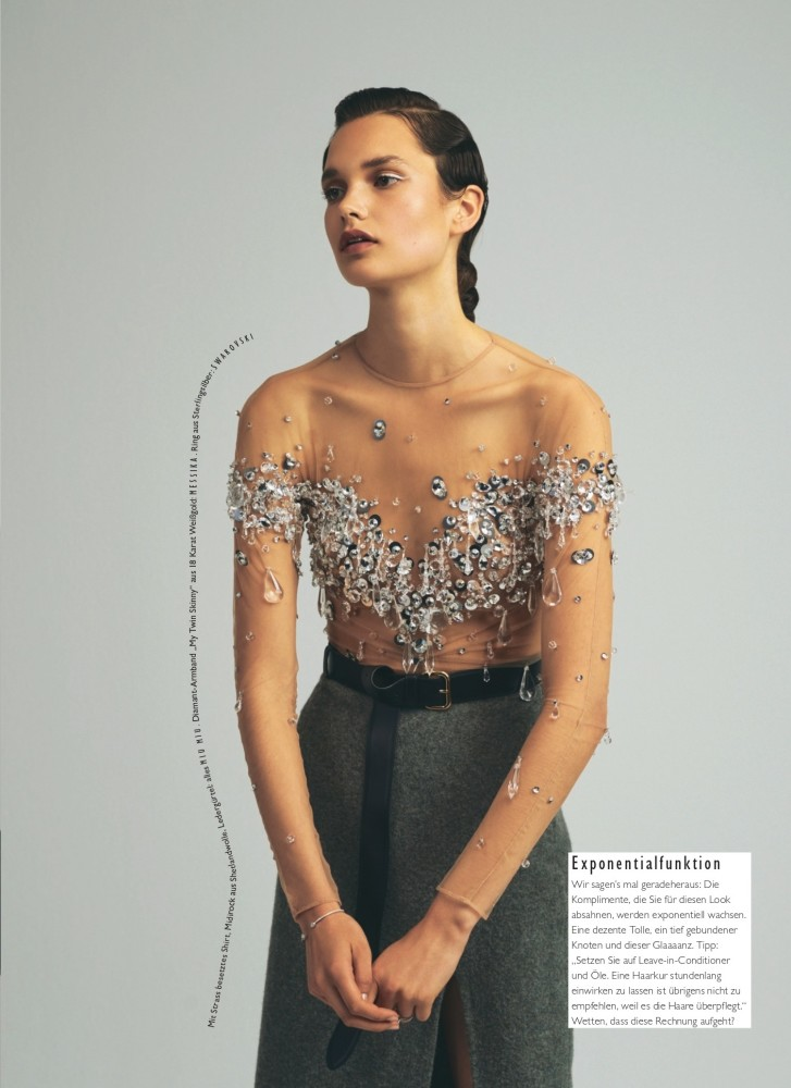 Noortje for Grazia Germany