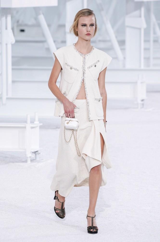 Britt H + Felice for Chanel