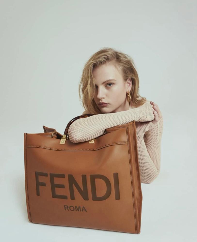 Britt H for FENDI