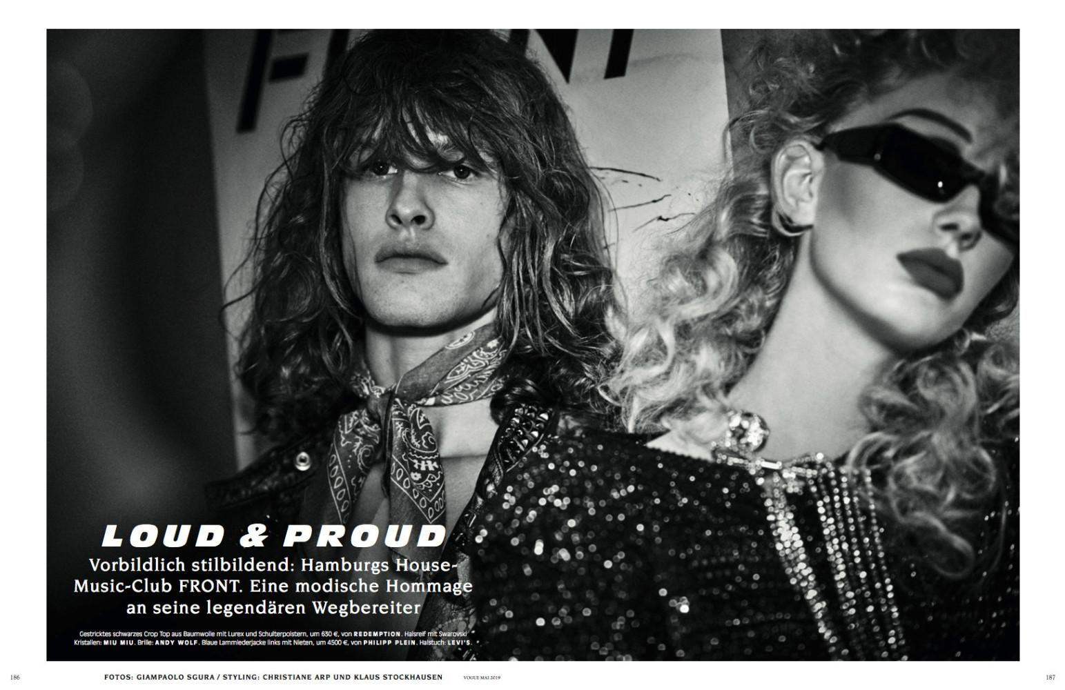 Jessie for Vogue Germany