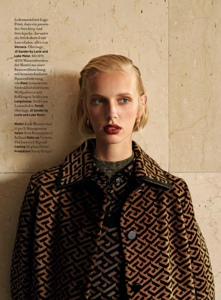 Jessie for Harpers Bazaar Germany