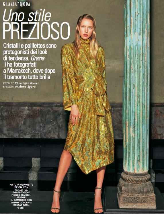 Annelot for Grazia Italy