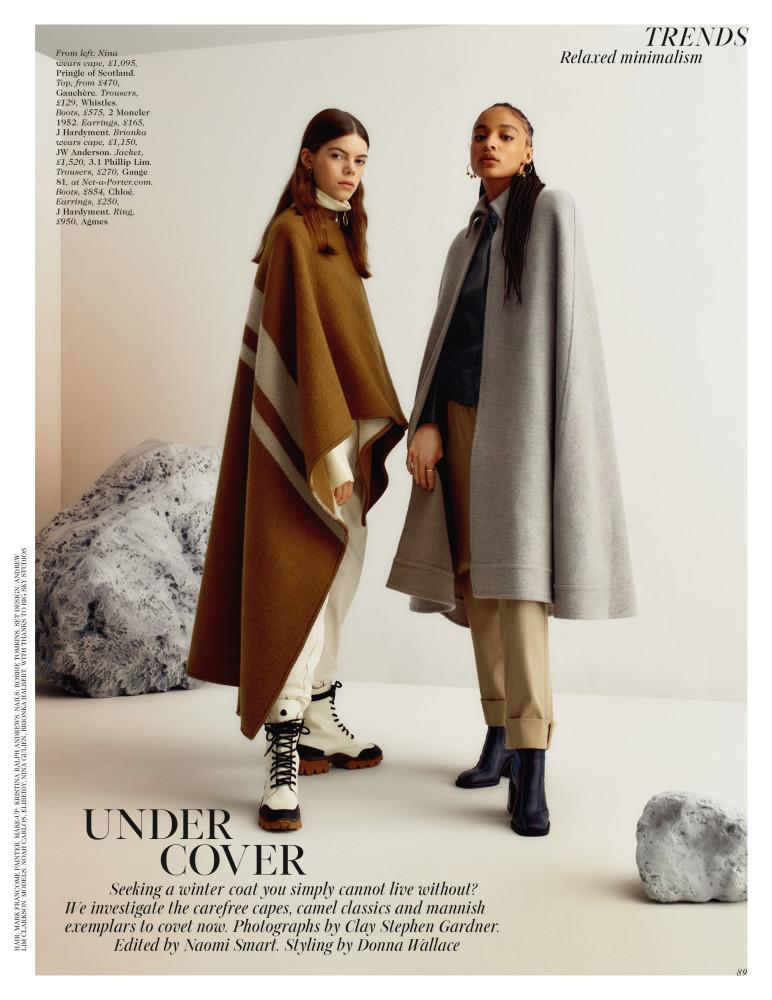 Nina for British Vogue