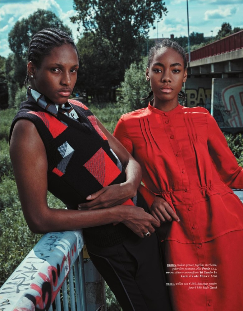 Imani & Puck for Vogue Youth